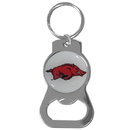 Siskiyou Buckle SCKB12 Arkansas Razorbacks Bottle Opener Key Chain
