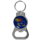 Siskiyou Buckle Kansas Jayhawks Bottle Opener Key Chain, SCKB21