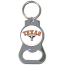 Siskiyou Buckle SCKB22 Texas Longhorns Bottle Opener Key Chain