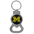 Siskiyou Buckle SCKB36 Michigan Wolverines Bottle Opener Key Chain