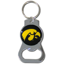 Siskiyou Buckle SCKB52 Iowa Hawkeyes Bottle Opener Key Chain