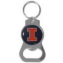 Siskiyou Buckle Illinois Fighting Illini Bottle Opener Key Chain, SCKB55