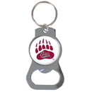 Siskiyou Buckle SCKB75 Montana Grizzlies Bottle Opener Key Chain