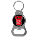 Siskiyou Buckle SCKB79 N. Carolina St. Wolfpack Bottle Opener Key Chain