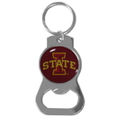 Siskiyou Buckle Iowa St. Cyclones Bottle Opener Key Chain, SCKB83
