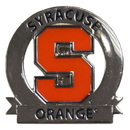 Siskiyou Buckle SCP62C Syracuse Orange Glossy Team Pin