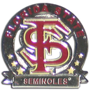 Siskiyou Buckle SCP7C Florida St. Seminoles Glossy Team Pin