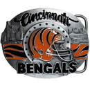 Siskiyou Buckle SFB010 Cincinnati Bengals Team Belt Buckle