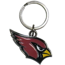 Siskiyou Buckle SFCK035 Arizona Cardinals Enameled Key Chain