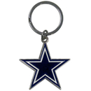 Siskiyou Buckle SFCK055 Dallas Cowboys Enameled Key Chain