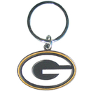 Siskiyou Buckle SFCK115 Green Bay Packers Enameled Key Chain