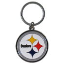 Siskiyou Buckle SFCK160 Pittsburgh Steelers Enameled Key Chain