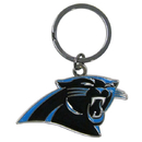 Siskiyou Buckle SFCK170 Carolina Panthers Enameled Key Chain