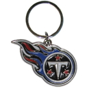 Siskiyou Buckle SFCK185 Tennessee Titans Enameled Key Chain