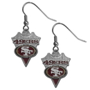 Siskiyou Buckle SFE075 San Francisco 49ers Classic Dangle Earrings