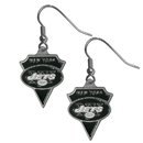 Siskiyou Buckle SFE100 New York Jets Classic Dangle Earrings