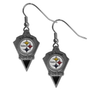 Siskiyou Buckle SFE160 Pittsburgh Steelers Classic Dangle Earrings