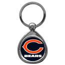 Siskiyou Buckle SFK005C Chicago Bears Chrome Key Chain