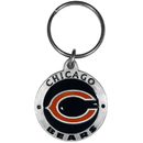 Siskiyou Buckle SFK005Z Chicago Bears Carved Metal Key Chain