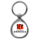 Siskiyou Buckle SFK010C Cincinnati Bengals Chrome Key Chain