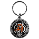 Siskiyou Buckle SFK010Z Cincinnati Bengals Carved Metal Key Chain