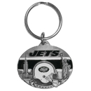 Siskiyou Buckle SFK010 Cincinnati Bengals Carved Metal Key Chain