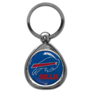 Siskiyou Buckle SFK015C Buffalo Bills Chrome Key Chain