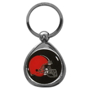 Siskiyou Buckle SFK025C Cleveland Browns Chrome Key Chain