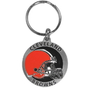 Siskiyou Buckle SFK025Z Cleveland Browns Carved Metal Key Chain