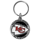 Siskiyou Buckle SFK045Z Kansas City Chiefs Carved Metal Key Chain