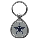Siskiyou Buckle SFK055C Dallas Cowboys Chrome Key Chain