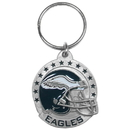 Siskiyou Buckle SFK065 Philadelphia Eagles Carved Metal Key Chain