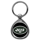 Siskiyou Buckle SFK100C New York Jets Chrome Key Chain
