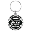 Siskiyou Buckle SFK100Z New York Jets Carved Metal Key Chain