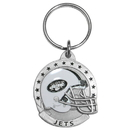 Siskiyou Buckle SFK100 New York Jets Carved Metal Key Chain