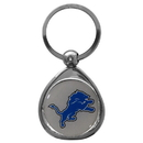 Siskiyou Buckle SFK105C Detroit Lions Chrome Key Chain