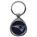 Siskiyou Buckle SFK120C New England Patriots Chrome Key Chain