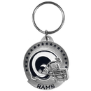Siskiyou Buckle SFK130 St. Louis Rams Carved Metal Key Chain