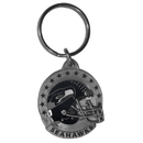 Siskiyou Buckle SFK155 Seattle Seahawks Carved Metal Key Chain