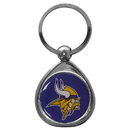Siskiyou Buckle SFK165C Minnesota Vikings Chrome Key Chain