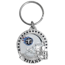 Siskiyou Buckle SFK185 Tennessee Titans Carved Metal Key Chain