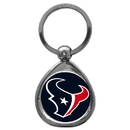 Siskiyou Buckle SFK190C Houston Texans Chrome Key Chain