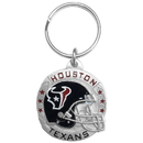 Siskiyou Buckle SFK190 Houston Texans Carved Metal Key Chain