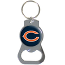 Siskiyou Buckle SFKB005 Chicago Bears Bottle Opener Key Chain