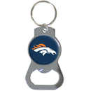 Siskiyou Buckle SFKB020 Denver Broncos Bottle Opener Key Chain