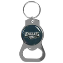 Siskiyou Buckle SFKB065 Philadelphia Eagles Bottle Opener Key Chain