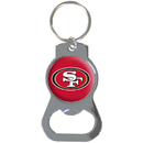 Siskiyou Buckle SFKB075 San Francisco 49ers Bottle Opener Key Chain