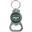 Siskiyou Buckle SFKB100 New York Jets Bottle Opener Key Chain