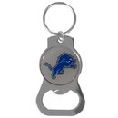 Siskiyou Buckle SFKB105 Detroit Lions Bottle Opener Key Chain