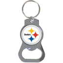 Siskiyou Buckle SFKB160 Pittsburgh Steelers Bottle Opener Key Chain